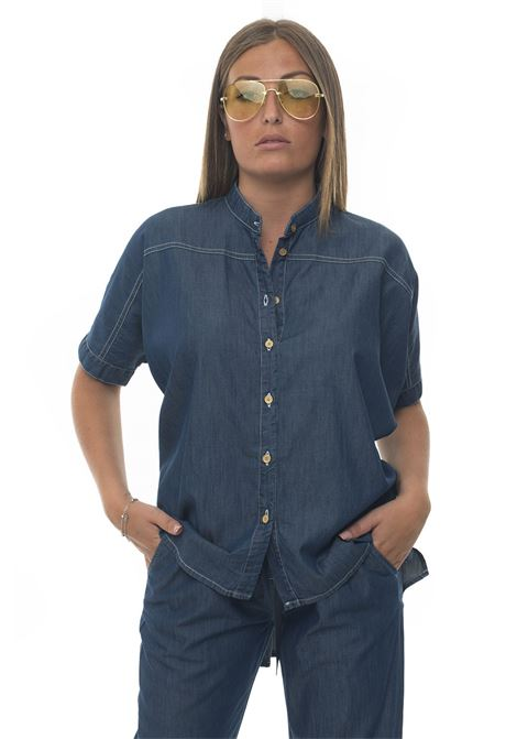 Over-size blouse Blue Les Copains | 6 | 0J20500148