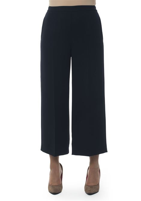 Soft trousers in cady Blue Les Copains | 9 | 0J30110188