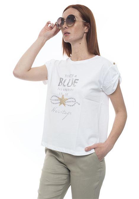 Soft T-shirt Blue Les Copains | 8 | 0J91953100