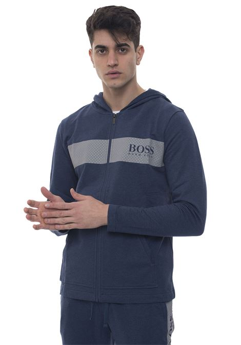 Contemp Jacket  Zip sweatshirt with hood BOSS | 20000055 | CONTEMPJACKET-50403455438
