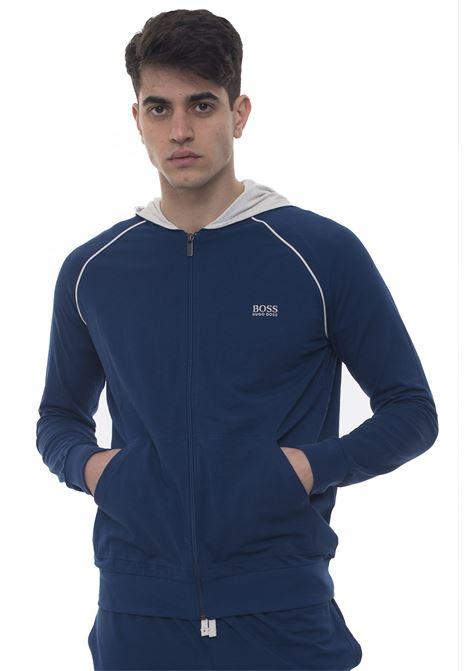 Mix&Match Jacket H  Zip sweatshirt with hood BOSS | 20000055 | MIXANDMATCHJKT-50381879438