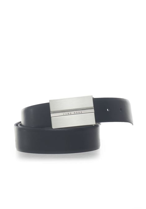 Ores_Or35_pp Belt in bicolored leather BOSS | 20000041 | ORES-50397945002