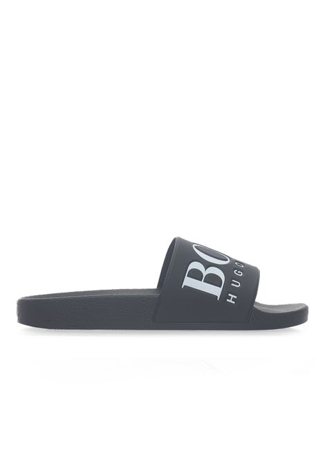Solar_Slid_logo  Sandals BOSS | 5032246 | SOLAR_SLID_LOGO-50388496002