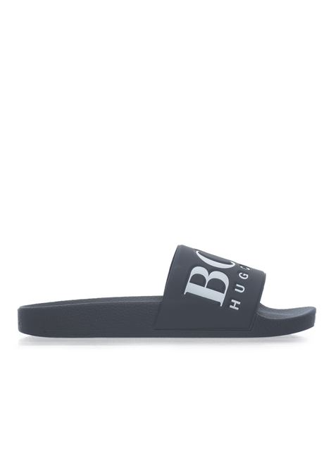 Solar_Slid_logo  Sandals BOSS | 5032246 | SOLAR_SLID_LOGO-50388496401
