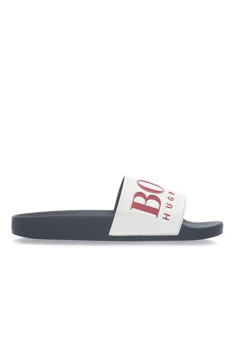 Solar_Slid_logo  Sandals BOSS | 5032246 | SOLAR_SLID_LOGO-50388496461