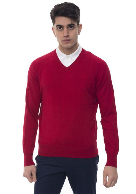 V-neck pullover Brooks Brothers | 7 | 100049776ROSSO