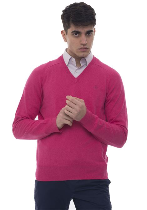 V-neck pullover Brooks Brothers | 7 | 100049777FUCSIA