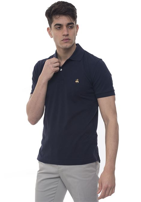 Short sleeve polo shirt Brooks Brothers | 2 | 100076744BLU