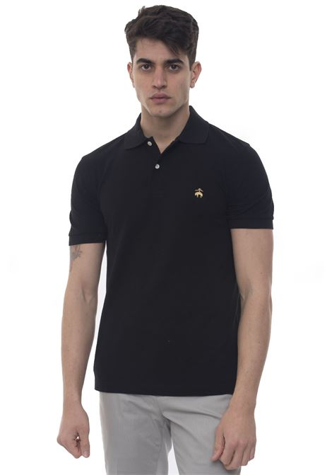 Short sleeve polo shirt Brooks Brothers | 2 | 100076747NERO
