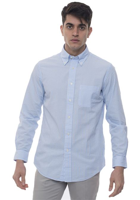 Camicia casual Brooks Brothers | 6 | 100103843CELESTEBIANCO