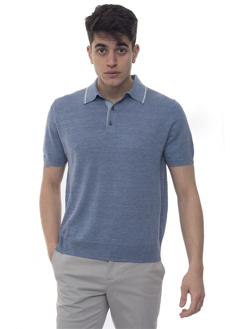 Short sleeve polo shirt Brooks Brothers | 2 | 100126359AZZURRO