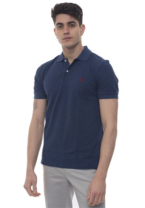 Short sleeve polo shirt Brooks Brothers | 2 | 100132485DENIM
