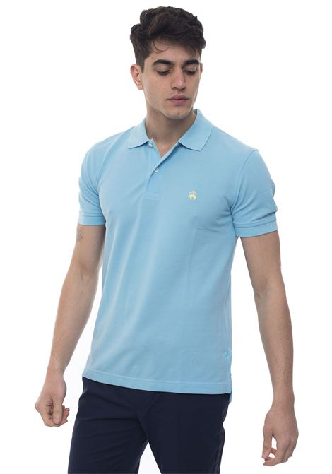 Short sleeve polo shirt Brooks Brothers | 2 | 100132492CELESTE