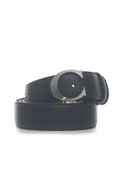 Leather belt Canali | 20000041 | 50-KA00226110