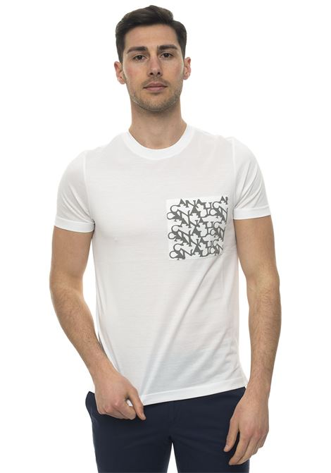 Short-sleeved round-necked T-shirt Canali | 8 | T0003-MJ00693001