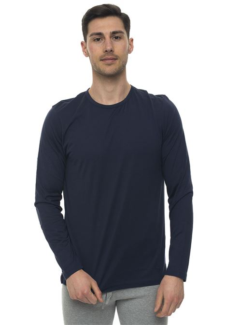 T-shirt with long sleeves and round-neck Corneliani | 8 | 83G555-9125028001