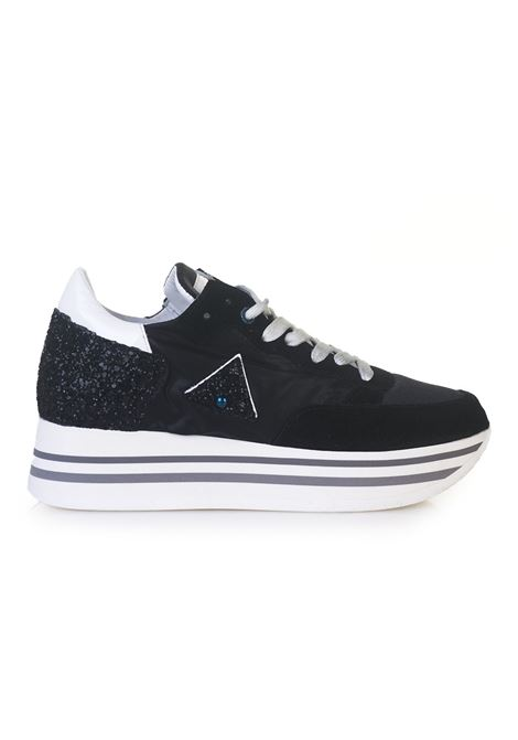 Sneakers in canvas and leather Ed Parrish | 5032317 | BNLDMX02