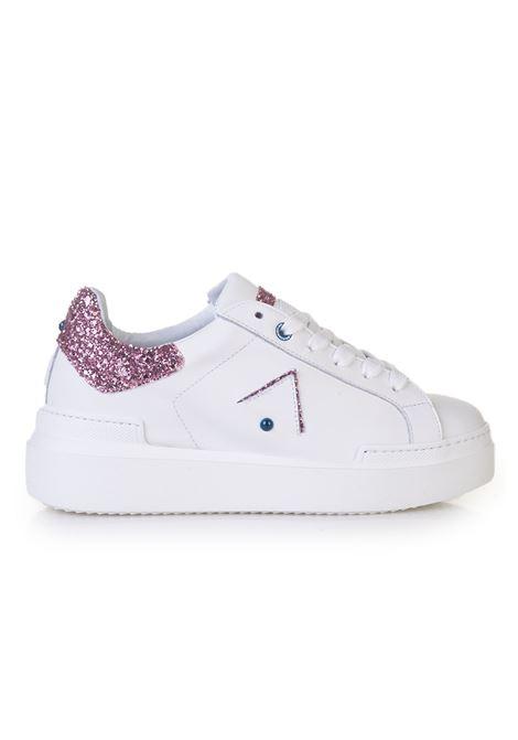 Sneakers in pelle con lacci Ed Parrish | 5032317 | CKLDSQ13