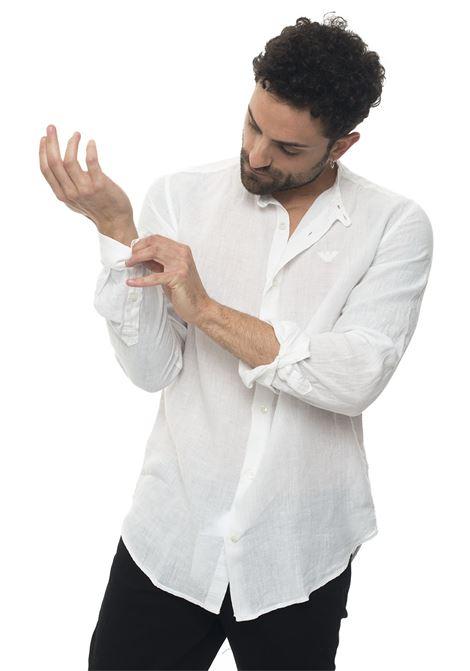 Shirt with guru collar Emporio Armani | 6 | 3G1C95-1N5FZ100