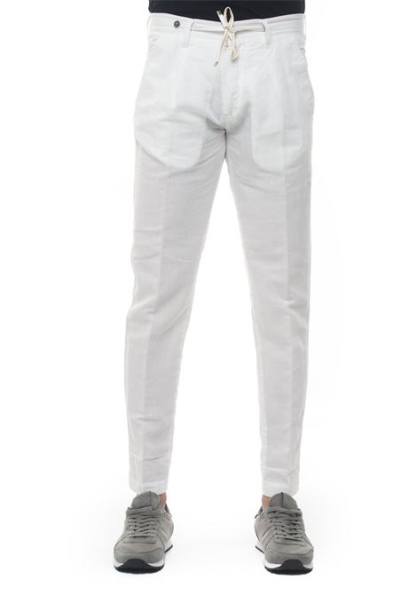 Linen trousers with drawstring Filetto | 9 | DALHI-LINO UNITO01