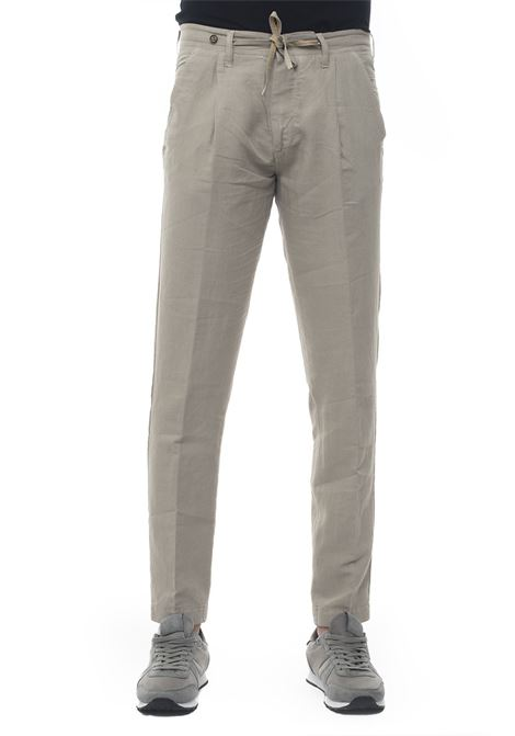 Linen trousers with drawstring Filetto | 9 | DALHI-LINO UNITO03