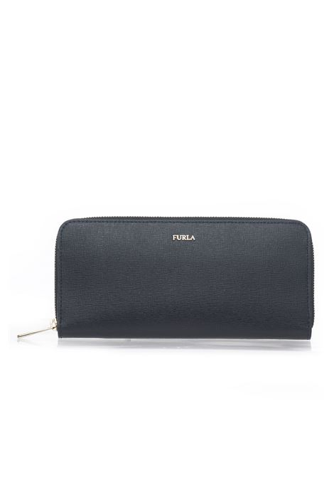 Babylon Rectangular purse with zip in leather Furla | 63 | BABYLON PBC2-B30ONYX