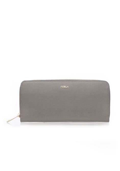Babylon Rectangular purse with zip in leather Furla | 63 | BABYLON PBC2-B30SABBIA