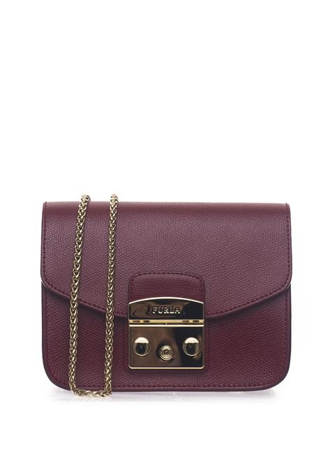 METROPOLISBGZ7 Small-size leather bag Furla | 31 | METROPOLIS BGZ7-ARECILIEGIA