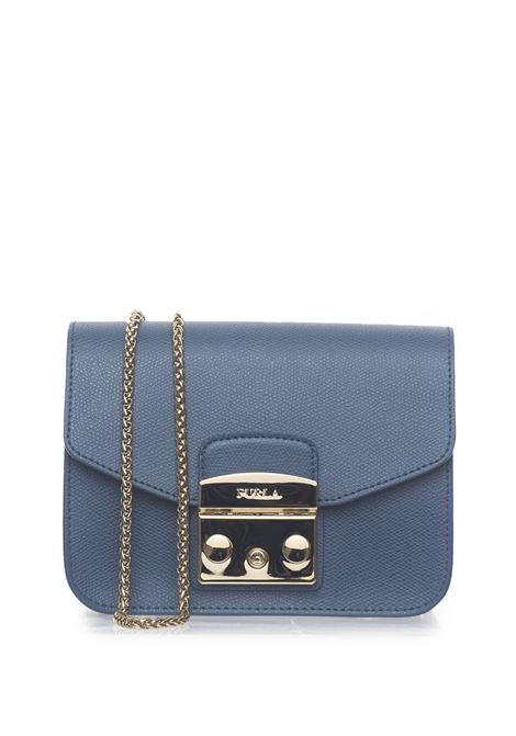 METROPOLISBGZ7 Small-size leather bag Furla | 31 | METROPOLIS BGZ7-ARECOLOR PIOMBO