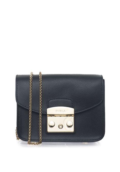 METROPOLISBGZ7 Small-size leather bag Furla | 31 | METROPOLIS BGZ7-AREONYX