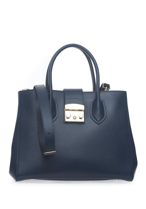 Metropolis Big-bag in leather Furla | 31 | METROPOLIS BML2-AREATLANTICO