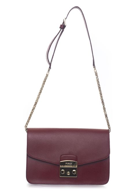 Metropolis Medium-size leather bag Furla | 31 | METROPOLIS BTJ7-ARECILIEGIA