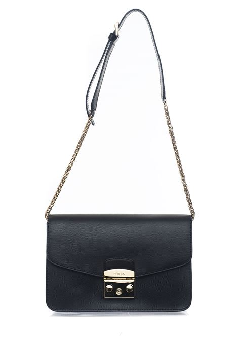 METROPOLISBTJ7 Medium-size leather bag Furla | 31 | METROPOLIS BTJ7-AREONYX