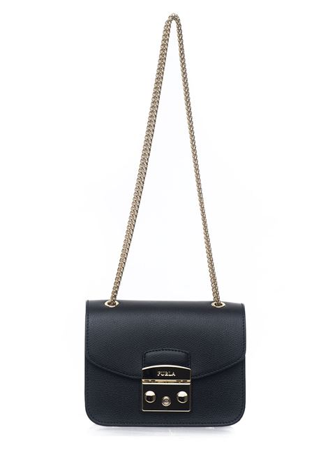 Small bag in leather Furla | 31 | METROPOLIS BVP4-AREONYX