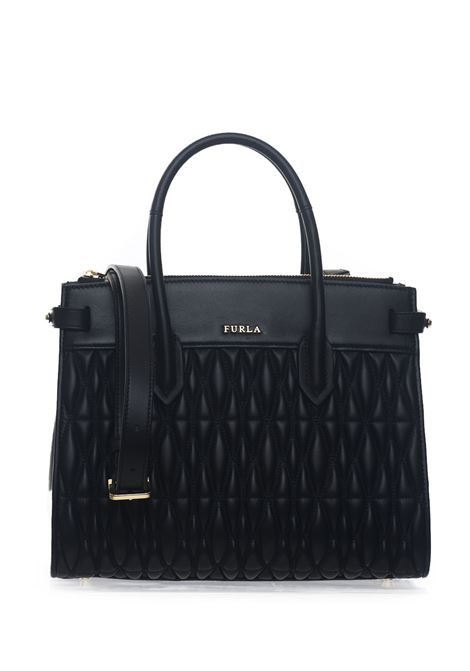 Pin Cometa Medium-size leather bag Furla | 31 | PIN COMETA BTZ5-2Q0ONYX
