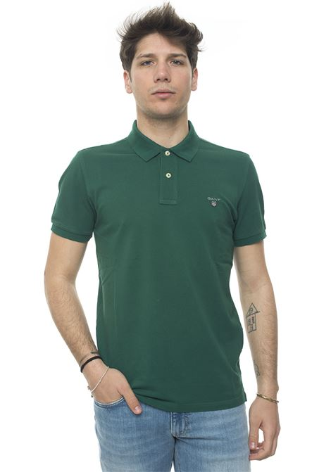 Polo shirt in cotton piquet Gant | 2 | 002201373