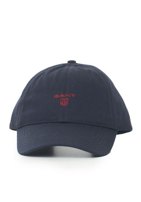 Berretto in cotone con visiera Gant | 5032318 | 090062433