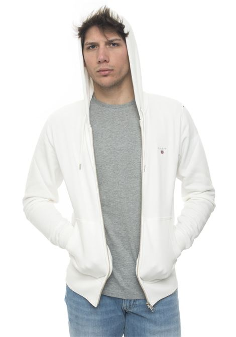 Zip sweatshirt with hood Gant   20000055   2046011113