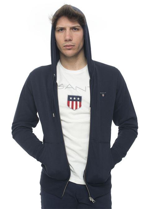 Zip sweatshirt with hood Gant | 20000055 | 2046011433