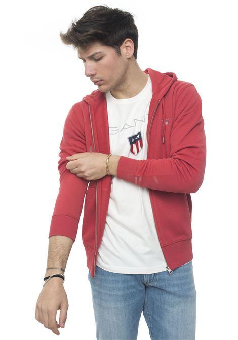 Zip sweatshirt with hood Gant | 20000055 | 2046011658