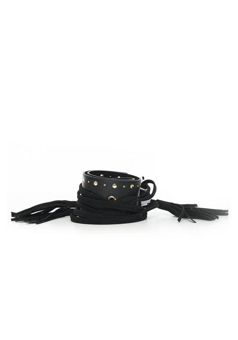 Cintura in effetto scamosciato Guess | 20000041 | BW7143-P9165BLA