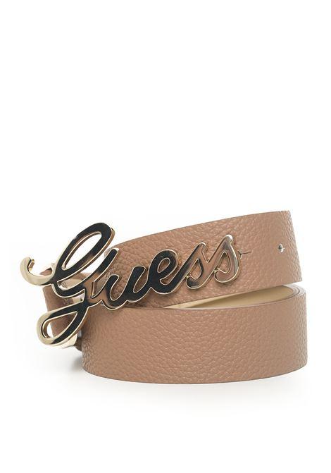 Cintura con fibbia logata Guess | 20000041 | BW7169-VIN35TAN