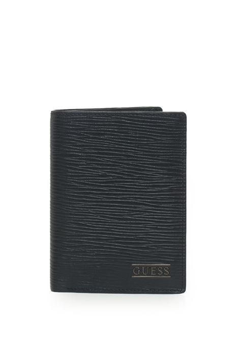 Vertical wallet Guess | 63 | SM2597-LEA51BLA