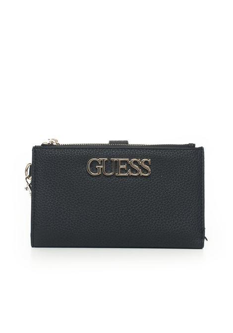 UPTOWN  CHIC  Wallet medium size Guess   63   SWVG73-01570BLA
