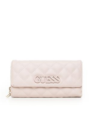 ELLIANA large quilted wallet Guess   63   SWVG73-02620BLS