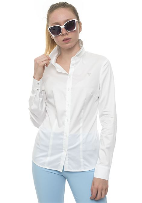 Cotton blouse Guess | 6 | W91H41-WAF10TWHT