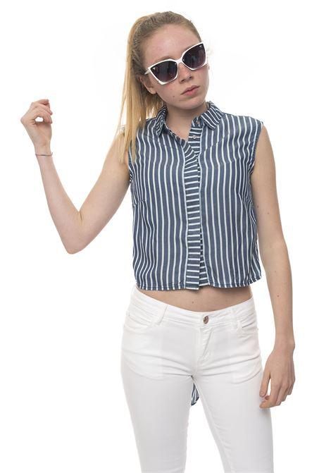 Camicia da donna Guess | 6 | W92H55-D3M20PNBL