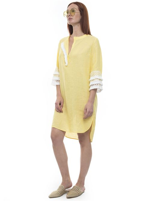 Tunic dress Kiton | 130000002 | C47323H0209704000GIALLO