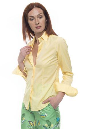 Cotton blouse Kiton | 6 | D23409H0555306000GIALLO