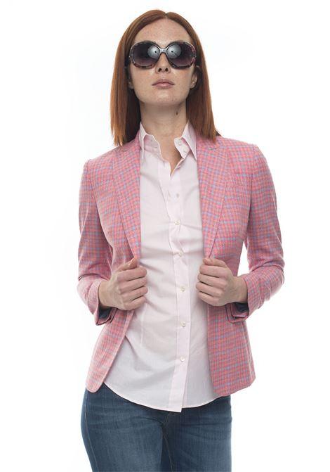 Jacket with 1 button Kiton | 3 | D45544K06P0749009ROSA_AZZURRO